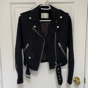 Wilfred suede leather jacket